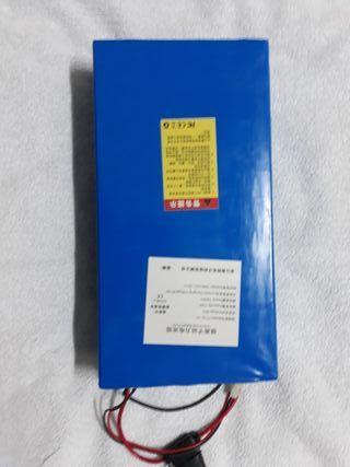 bateria citycoco 60 voltios 12 amperios