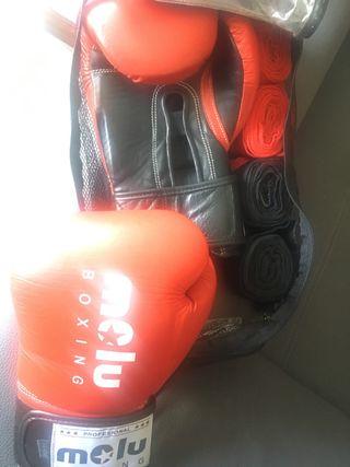 Guantes boxeo porfesionales de entrenamiento