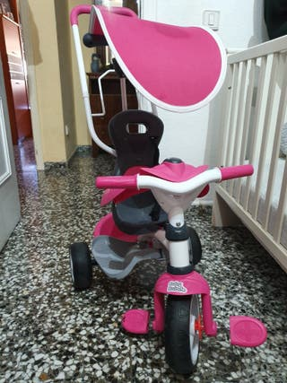 bicicleta de niña de paseo