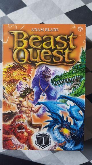 Brast Quest Libros en Ingles