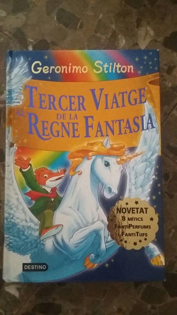 Al tercer viatge de la regne fantasia.