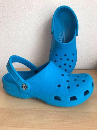 Zuecos Crocs talla 38