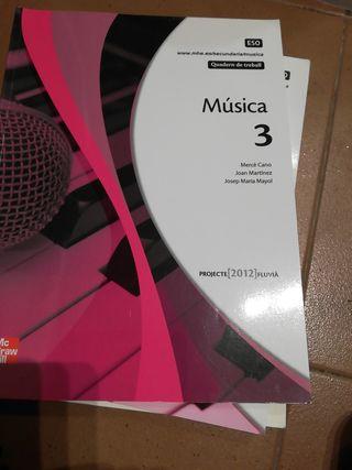 Música 3 Cuadern de Treball