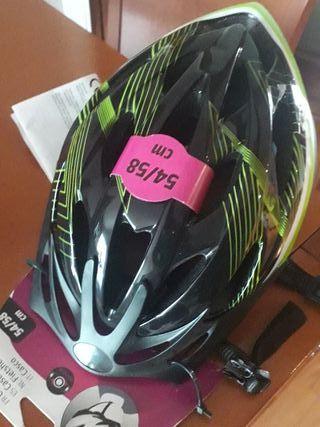 casco bicicleta sin estrenar