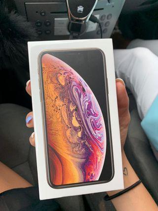 Iphone xs precintado 64 gb oro