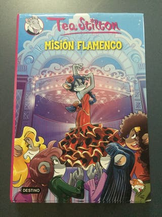 """Libro """"Misión flamenco""""."""
