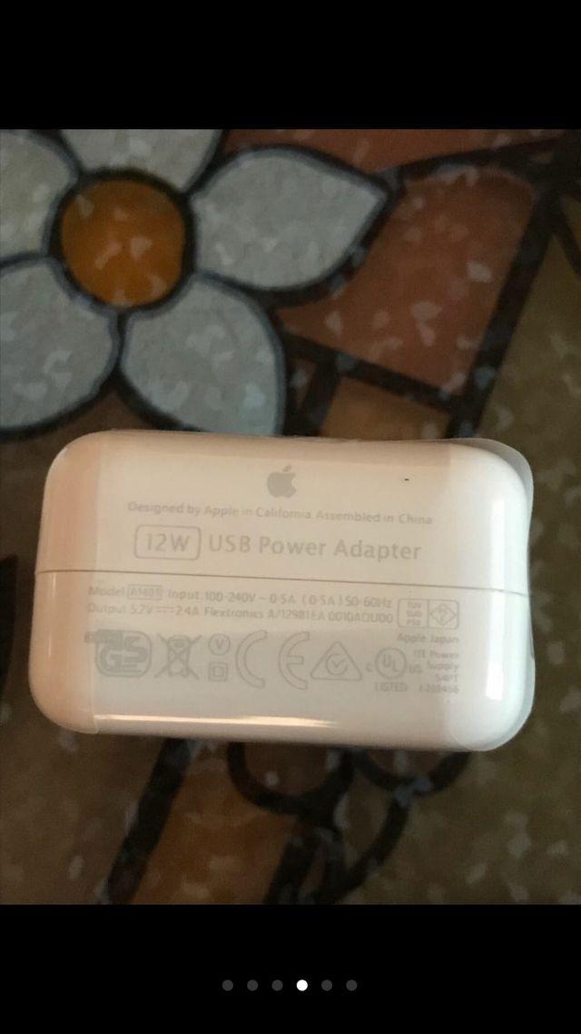 Cargador 12W iPhone/iPad
