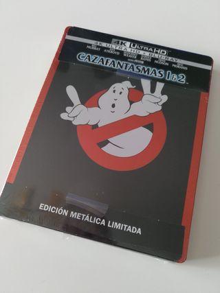 Cazafantasmas 1 y 2 steelbook 4K UHD Blu-ray