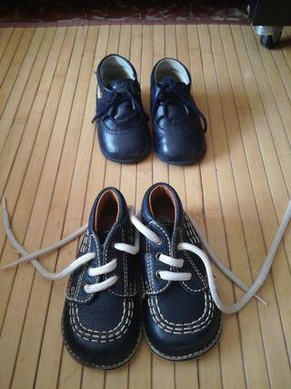 2 zapatos niño