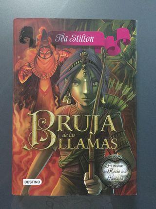 """Libro """"Bruja de las llamas"""""""