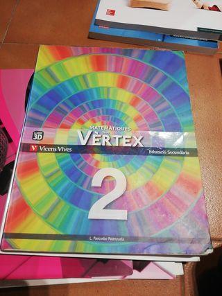 Matematiques Nou Vertex 2