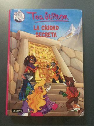 """Libro """"La ciudad secreta""""."""