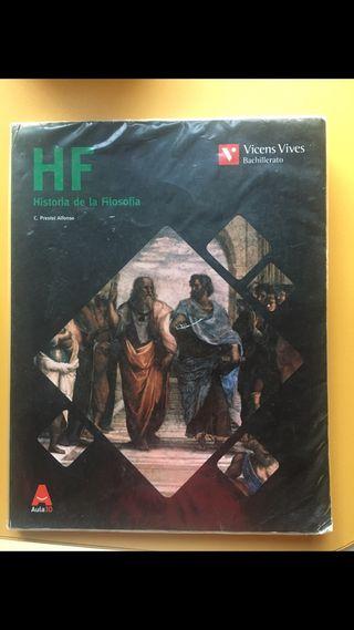 LIBRO HISTORIA DE LA FILOSOFÍA 2ºbach Vicens Vives