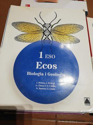 1 ESO Ecos Biología i Geología