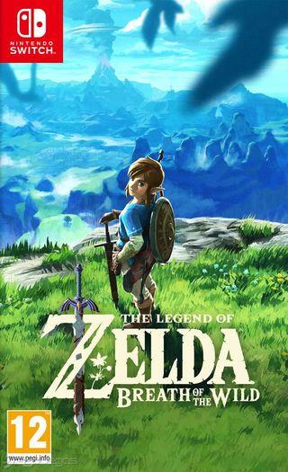 Legend of Zelda Breath of the Wild para Switch