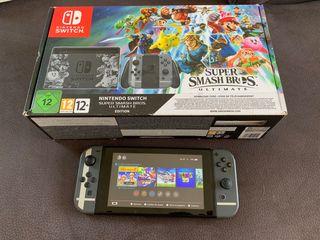 Nintendo Switch - Edición Super Smash Bros