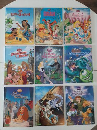 Colección de cómics de peliculas Disney
