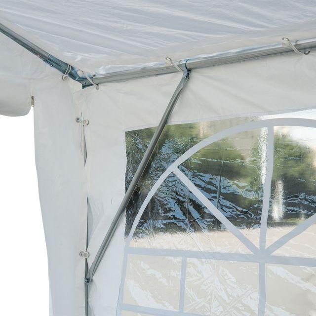 Carpa Blanca de 8x4 m Jardín Gazebo Pergola Cenado de segunda mano por 365 € en Sestao en WALLAPOP