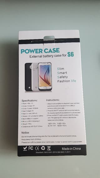 Batería externa Samsung galaxy S6 Edge