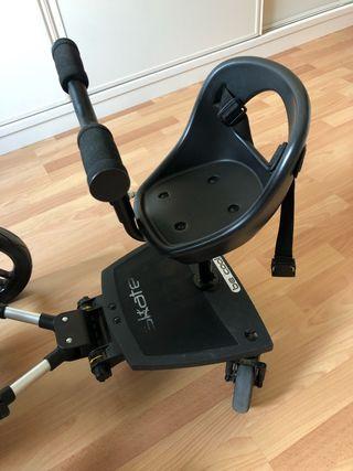 Patín con asiento para carro bebé