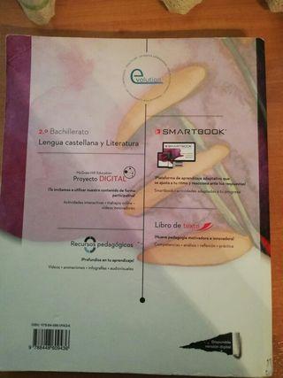 Libro de Lengua Castellana y Literatura 2° Bach