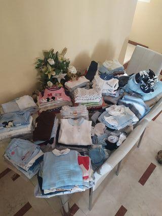 lote de ropa 0-3 meses