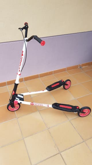 Patinete 3 ruedas plegable