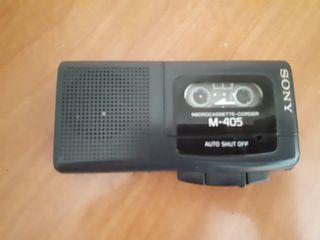Sony microcassete recorder M-405 Grabadora de voz