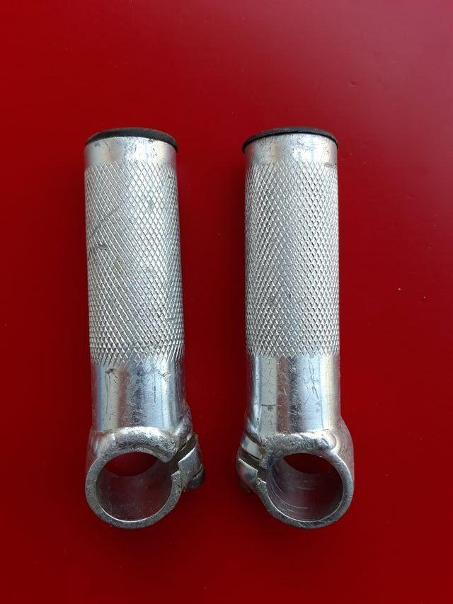 cuernos aluminio bici