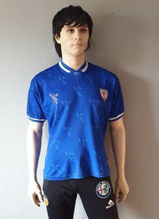 Camiseta Athletic Bilbao 2001-2002 Away Azul