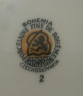 vajilla bohemia Carlsbad 36 piezas