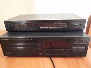 Radio Pioneer FX 33ZL & Reproductor CD PDZ74T