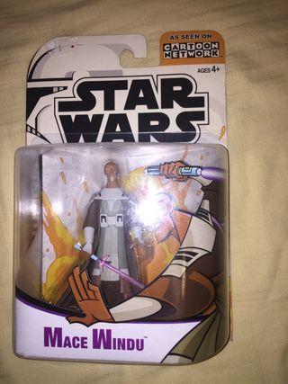 Star Wars mace windu figura clone wars