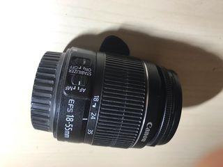 Objetivo Canon EFD 18-55