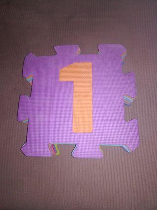 puzzle de 10 piezas con su bolsa de transporte