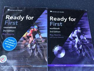 Ready for First. Libros de inglés