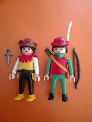 Playmobil lote de 2 figuras medievales