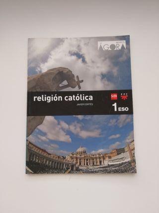 Libro Religión católica 1° ESO editorial SM