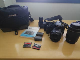 Cámara réflex Canon 400D