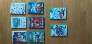 Lote Juegos Wii,Wii u y XBOX 360