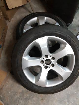 Llantas BMW X5 de 19 pulgadas con neumaticos