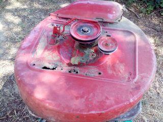 Plato tractor cortacesped snapper