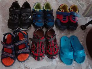 6 pares de Zapatos niño