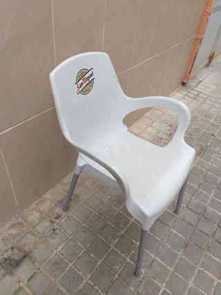 SILLAS PVC TERRAZA
