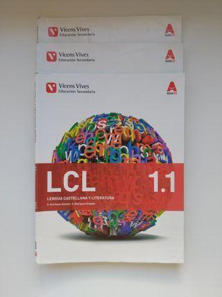 Libros de Lengua Castellana y Literatura 1° ESO