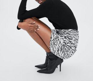 Falda mini Zara M nueva