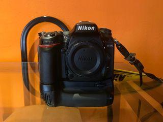 Camara Nikon D7100, objetivos y grip