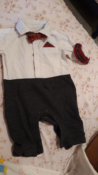 traje de bebe 0 a 3