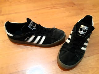 ZAPATILLAS ADIDAS ORIGINAL CAMPUS 42.5 NEGRAS