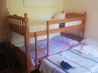 Literas y 2 camas
